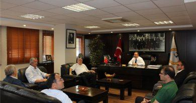 SMMMO Başkanı Ömer Faruk Tokgöz'ü ziyaretimiz